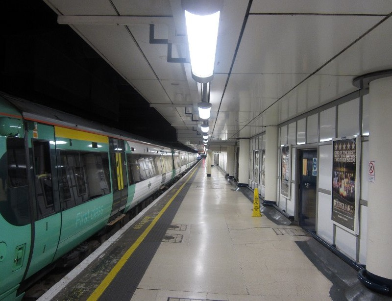 KH Engineering Platform Re-lighting at London Victoria
