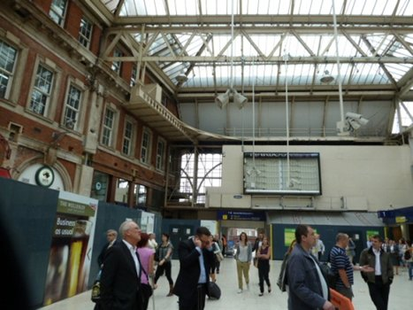 KH Engineering Concourse at Waterloo Station